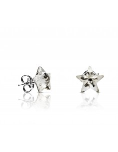 Glam star big plata pendientes