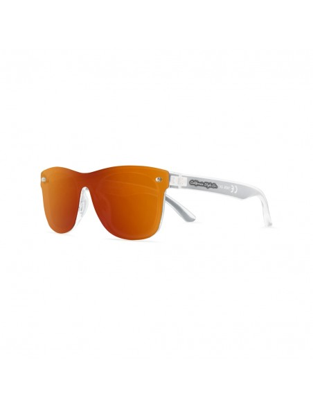 Gafas de Sol California Style Co  hollywood Ligths Naranja Polarizadas