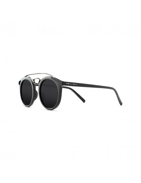 Gafas de Sol California Style Co San Francisco Rounded Negra